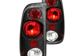 Anzo® - Carbon Fiber Euro Tail Lights G2