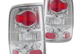 Anzo® - Chrome Euro Tail Lights with LEDs