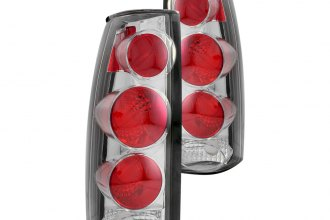 Anzo® - Smoke 3D Euro Tail Lights