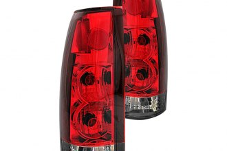 Anzo® - Red/Smoke Euro Tail Lights G2