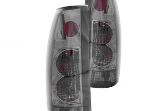 Anzo® - Smoke Euro Tail Lights G2