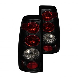 Anzo® - Dark/Smoke Euro Tail Lights