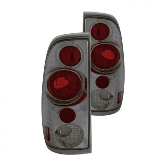 Anzo® - Chrome/Smoke Euro Tail Lights