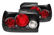 Anzo® - Black Euro Tail Lights