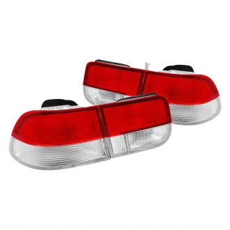 Anzo® - Red/Clear OEM Style Tail Lights