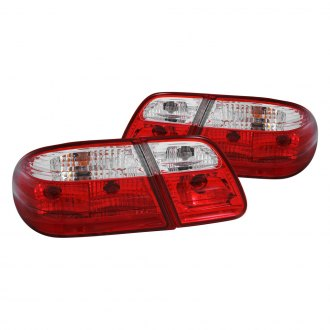 Anzo® - Red/Clear Euro Tail Lights G2