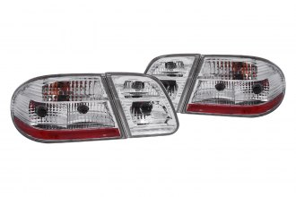 Anzo® - Clear Euro Tail Lights G2