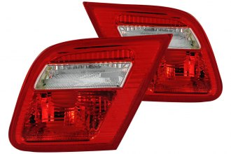 Anzo® - Red/Clear Euro Inner Tail Lights