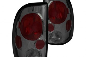 Anzo® - Smoke Euro Tail Lights