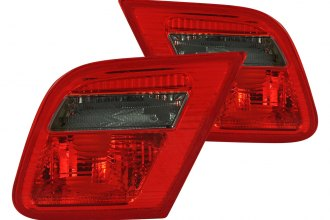 Anzo® - Red/Smoke Euro Inner Tail Lights