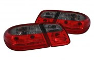 Anzo® - Red/Smoke OEM Style Euro Tail Lights G2