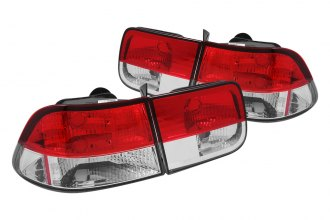 Anzo® - Red Euro Tail Lights