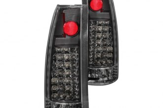 Anzo® - Black LED Tail Lights G2
