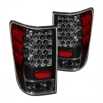 Anzo® - Black LED Tail Lights