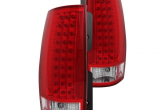 Anzo® - Red/Clear LED Tail Lights G3