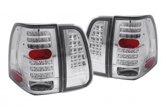 Anzo® - Clear LED Tail Lights