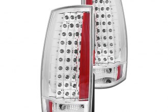 Anzo® - Chrome LED Tail Lights G4