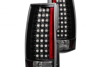 Anzo® - Black LED Tail Lights G4