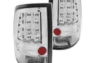 Anzo® - Chrome LED Tail Lights