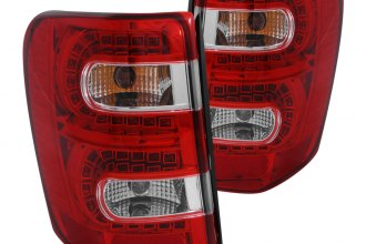 Anzo® - Red/Clear LED Tail Lights