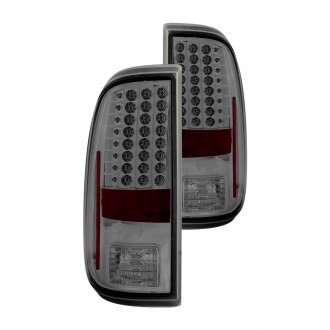 Anzo® - Chrome/Smoke LED Tail Lights