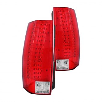 Anzo® - Red/Clear LED Tail Lights G5