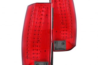 Anzo® - Red/Smoke LED Tail Lights G5