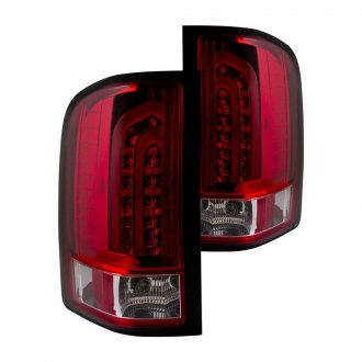 Anzo® - Red/Clear LED Tail Lights G2