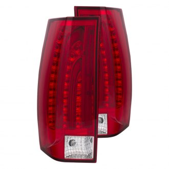 Anzo® - Red/Clear LED Tail Lights G6