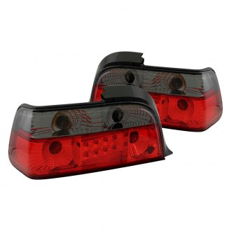 Anzo® - Red/Smoke LED Tail Lights