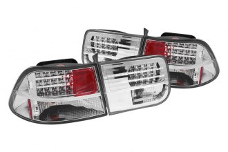 Anzo® - Chrome LED Tail Lights G3