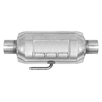 AP Exhaust® - Enhanced Standard Duty Universal Fit Oval Body Catalytic Converter