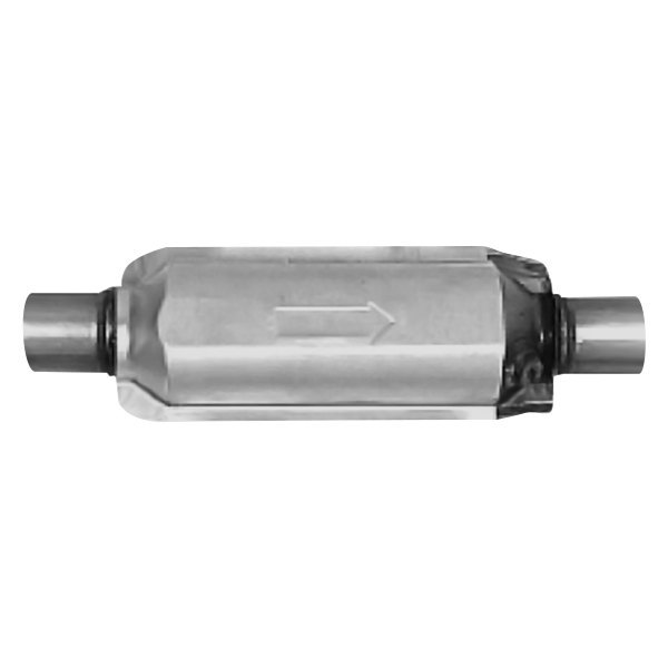 AP Exhaust® - 608 Series Universal Fit Round Body Catalytic Converter