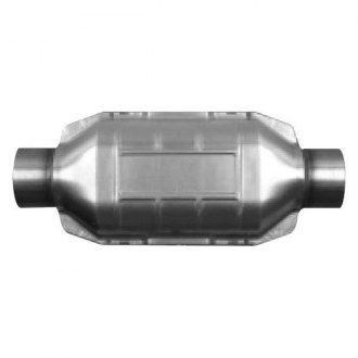 AP Exhaust® - Universal Fit Oval Body Catalytic Converter