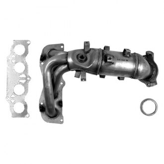 AP Exhaust® - Stainless Steel Direct Fit Exhaust Manifold with Integrated Catalytic Converter