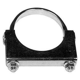 AP Exhaust® - Mild Steel Flat U-Bolt Exhaust Clamp