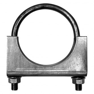 AP Exhaust® - Extra Heavy Duty Mild Steel Welded Saddle Natural Exhaust Clamp