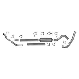 AP Exhaust® - Xlerator™ Aluminized Steel Single Turbo-Back Exhaust System with Single Rear Exit