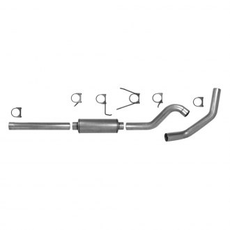 AP Exhaust® - Xlerator™ Aluminized Steel Single Cat-Back Exhaust System with Single Rear Exit