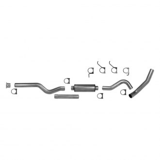 AP Exhaust® - Xlerator™ Aluminized Steel Front Pipe-Back Exhaust System