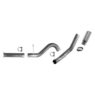 AP Exhaust® - Xlerator™ Aluminized Steel Single DPF-Back Exhaust System with Single Rear Exit