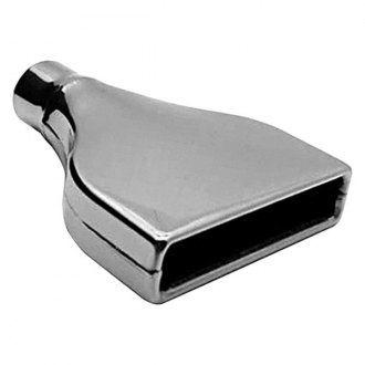 AP Exhaust® - Xlerator Stainless Steel Rectangular Angle Cut Weld-On Exhaust Tip