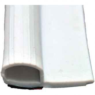 "AP Products® - Rubber Slide Out Seal with Wipper and Tape White 5/8"" x 2-1/2"" x 35'"