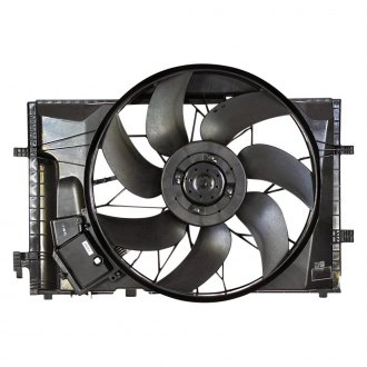 Mercedes C Class Replacement Radiator Fans Ponents Carid. Apdi Radiator Fan. Mercedes Benz. 85 Mercedes Benz 190e Engine Coolant Diagram At Scoala.co