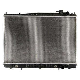 Radiator-1 Row Plastic Tank Aluminum Core CSF 3100