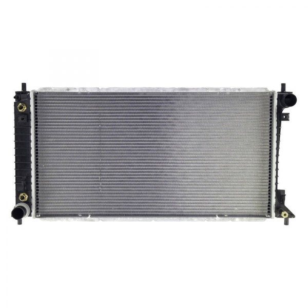 Apdi engine coolant radiator with quot inverted
