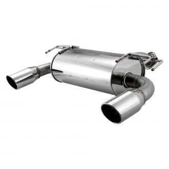 APEXi® - Hybrid Mega Evo™ 304 SS Axle-Back Exhaust System with Split Rear Exit