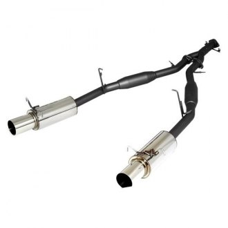 APEXi® - N1™ Mild Steel Dual Cat-Back Exhaust System with Split Rear Exit