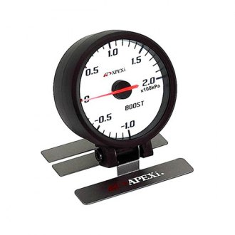 APEXi® - ELII System Meters Mechanical Boost White Face Gauge