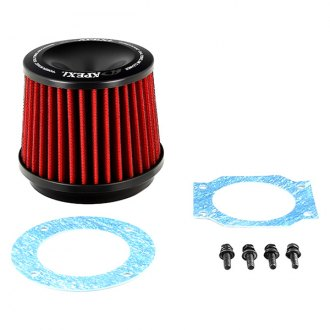 APEXi® - Power Round Straight Red Air Filter